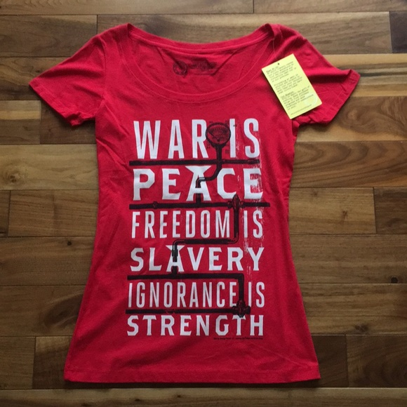 out of print Tops - War is Peace Tee